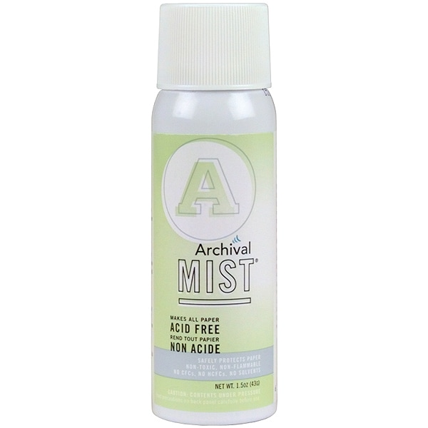 Archival Mist Aerosol Spray