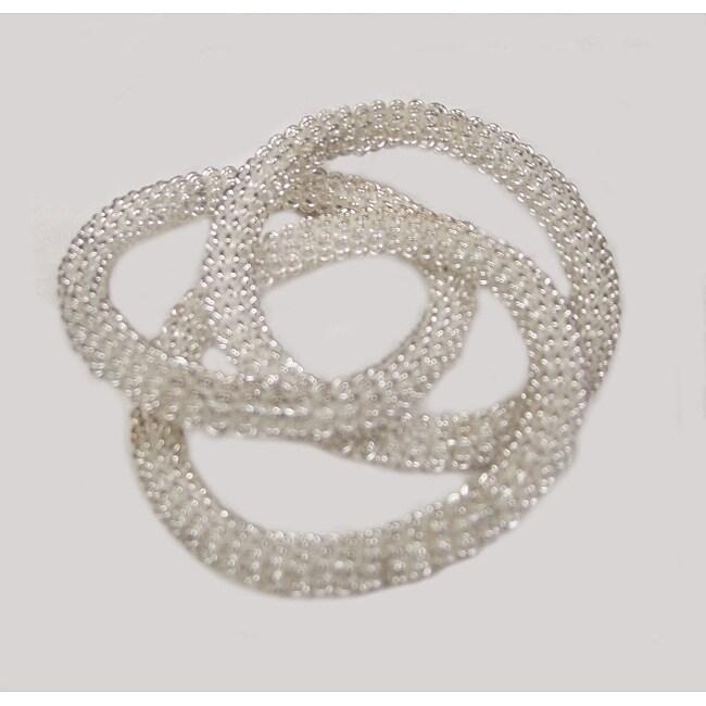 Tri-mesh Napkin Rings (Set of 6)