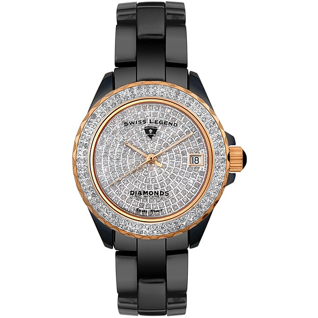 Swiss Legend Women's Diamond Watch