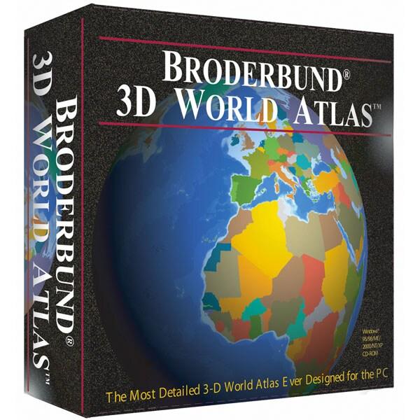 broderbund 3d world atlas   1129630   overstock