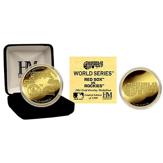 24k Gold 2007 World Series Commemorative Coin