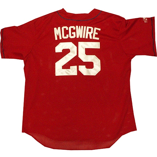 Mark McGwire Cardinals Batting Practice Jersey