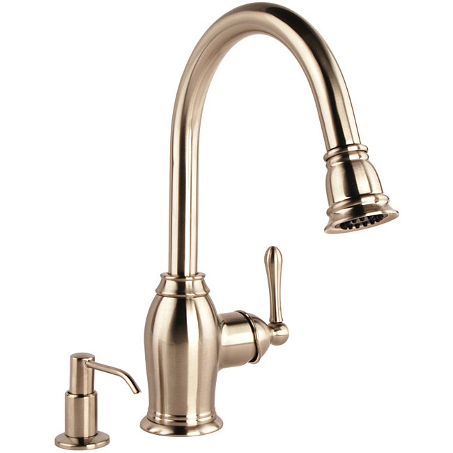 Fontaine Faucets : Fontaine Kitchen Traditional Pull Down Faucet - 11303171 - Overstock ...