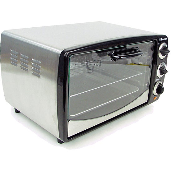 Emerson Countertop Convection Oven : Emerson 3-function Stainless Steel Toaster Oven - 11334249 - Overstock ...