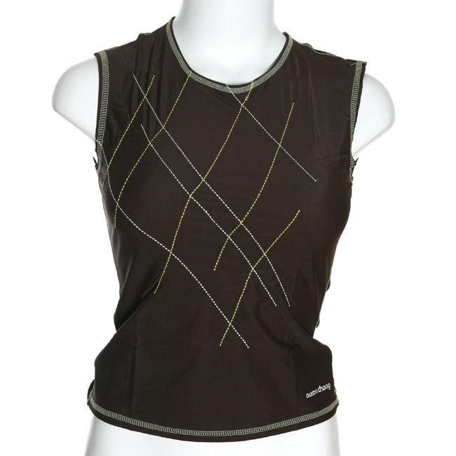 Aaron Chang Women's Sleeveless Rash Guard Shirt