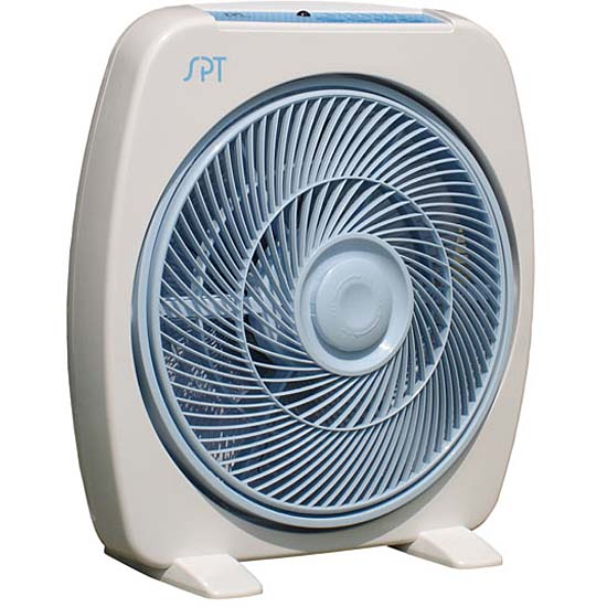 Portable Remote Controlled 12-inch Box Fan