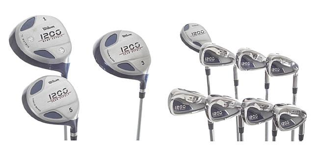 Wilson 1200 Gear Effect 11-piece Golf Club Set