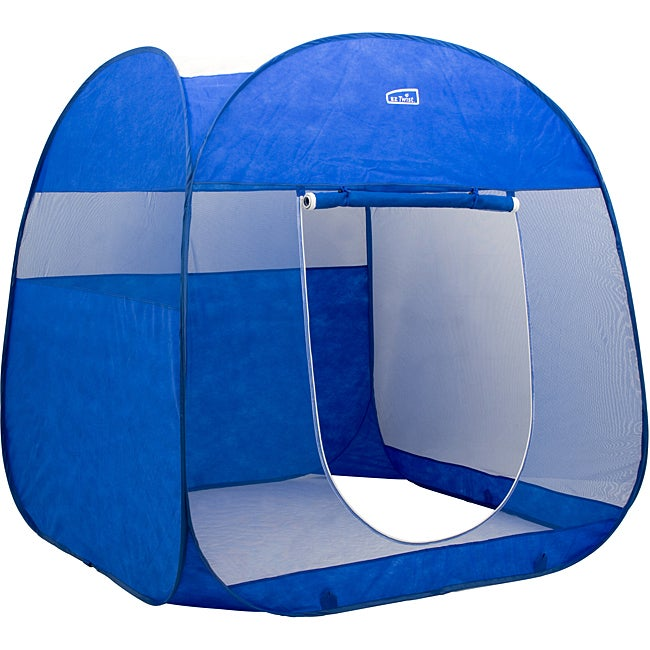 Deluxe portable screen room w carrying case overstock for Portable garden room