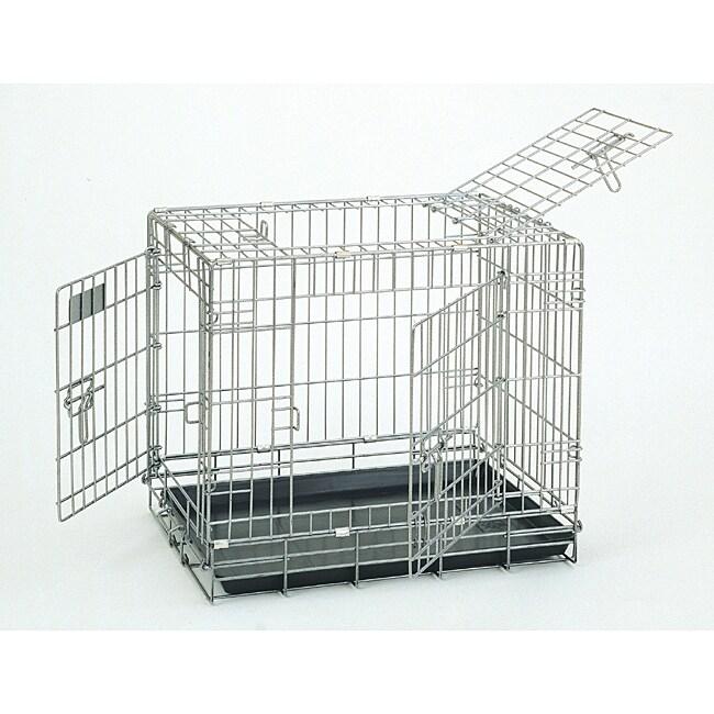 Deluxe Great Crate Sterling 2000 3-door Dog Kennel