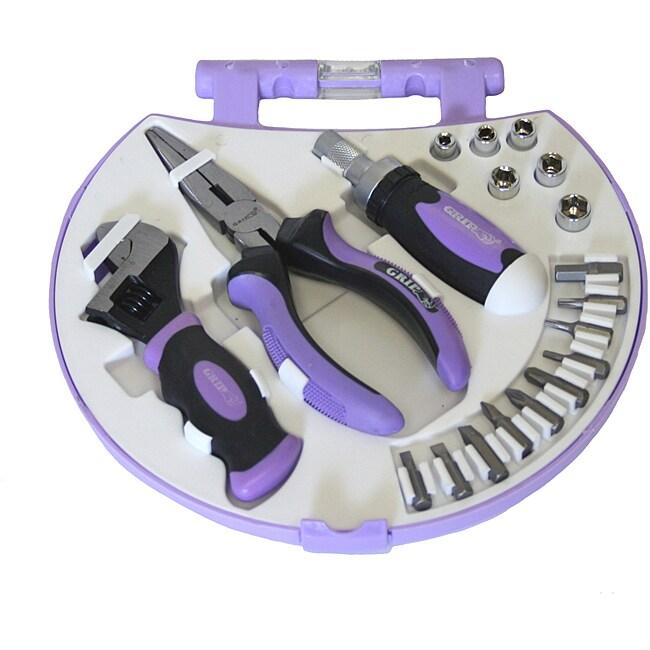 19 piece women 39 s tool kit 11346214 for Garden tool set for women