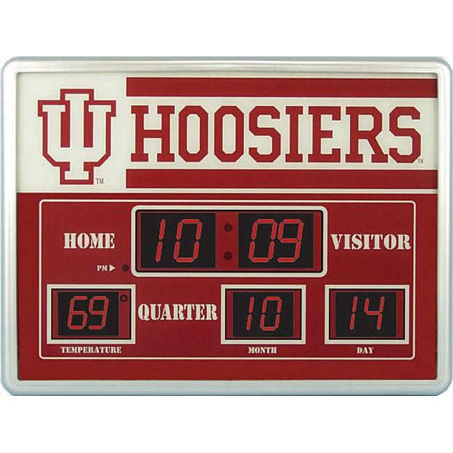 Indiana University Scoreboard Clock 11346453 Overstock  : L11346453 from www.overstock.com size 650 x 650 jpeg 55kB