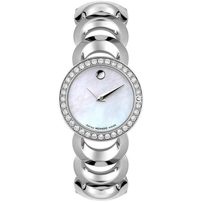 Movado Rondiro Womens Diamond Watch 11358808  : L11358808 from www.overstock.com size 650 x 650 jpeg 31kB