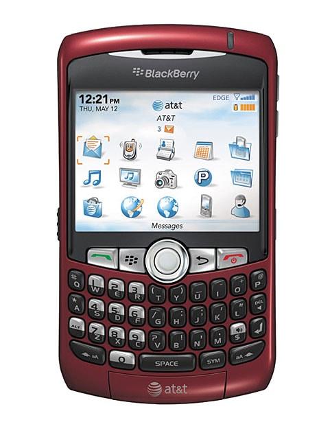 Blackberry Curve 8310 Red Unlocked GSM Smartphone (Refurbished)