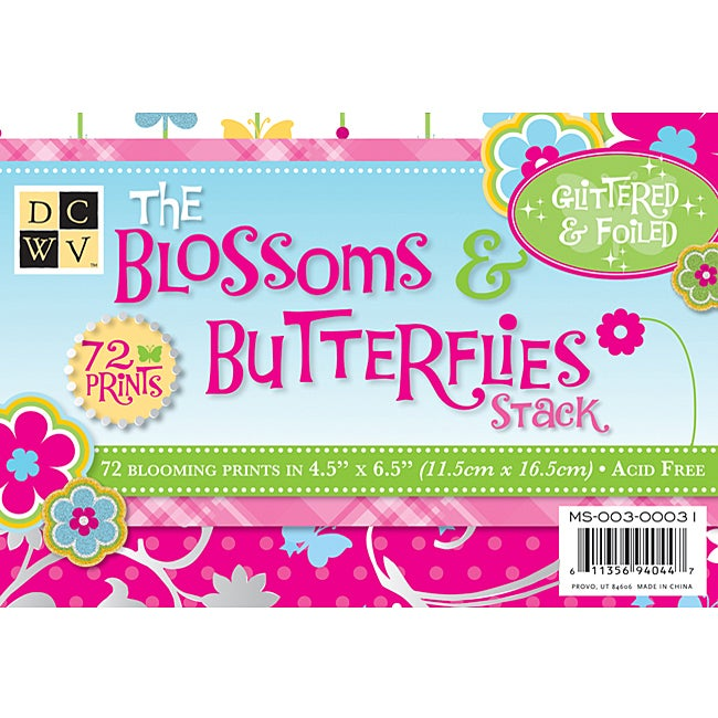Die Cuts with a View Blossom and Butterflies Mat Stack