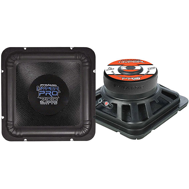 12 Inch square subs