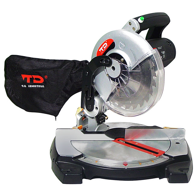 Td industrial cul 8 inch miter saw with laser 11397304 for 10 13 amp industrial bench table saw