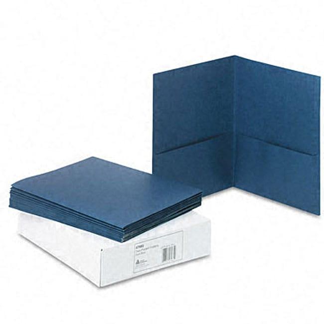 Avery Two-Pocket Paper Portfolios (Case of 25)