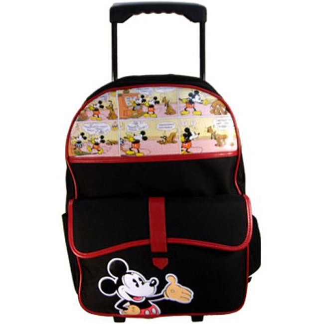 Disney Mickey Mouse Rolling School Backpack