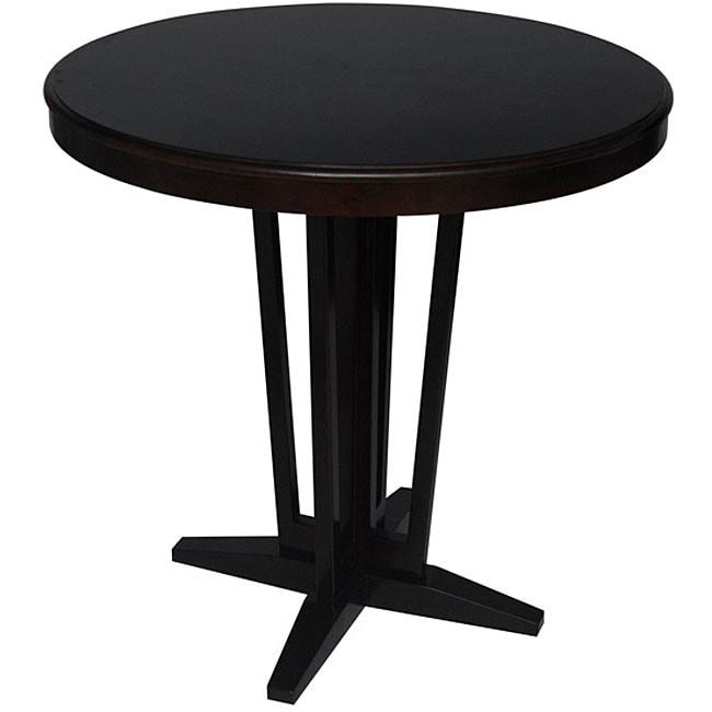 Carolina Accents Maddox Espresso Bistro Table