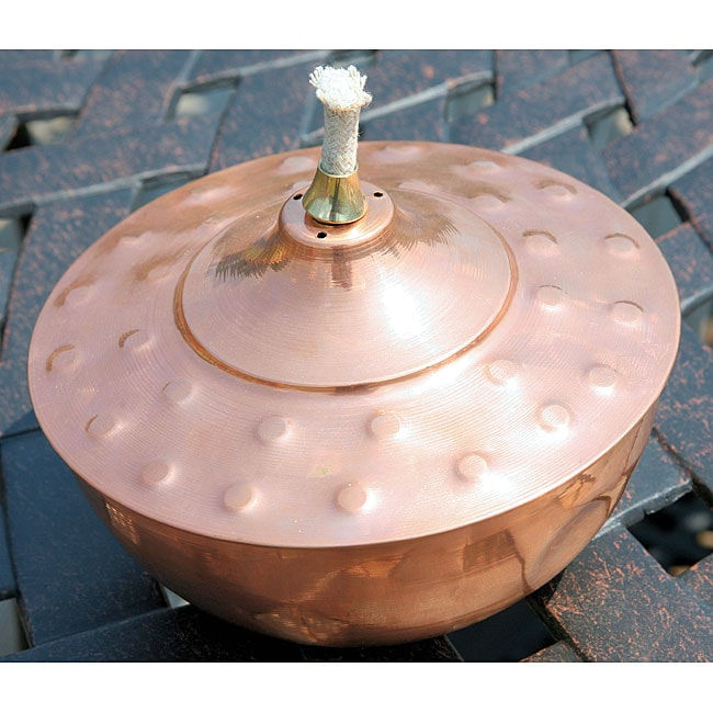 Copper Table Top Tiki Torch 11417860 Overstock Com