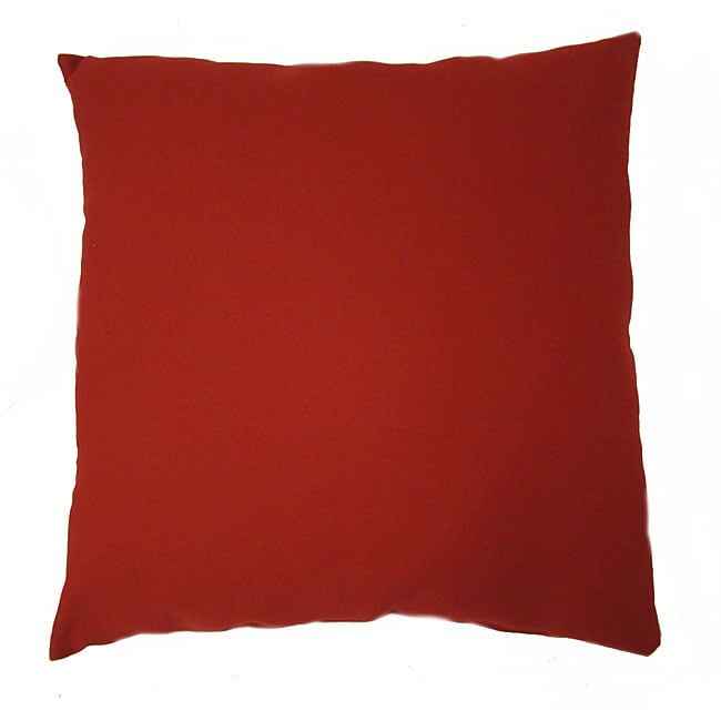 Large Outdoor Floor Pillows : Jockey Red Large Outdoor Floor Pillow - 11435893 - Overstock.com Shopping - Great Deals on Throw ...