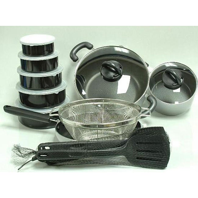 Tabletops Invitations 21-piece Cookware Set