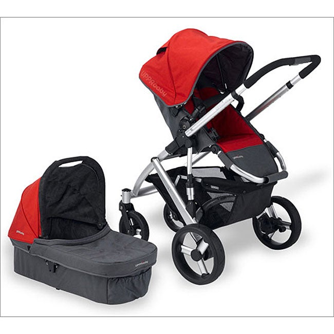 Uppababy Vista Stroller System In Denny Red 11446725