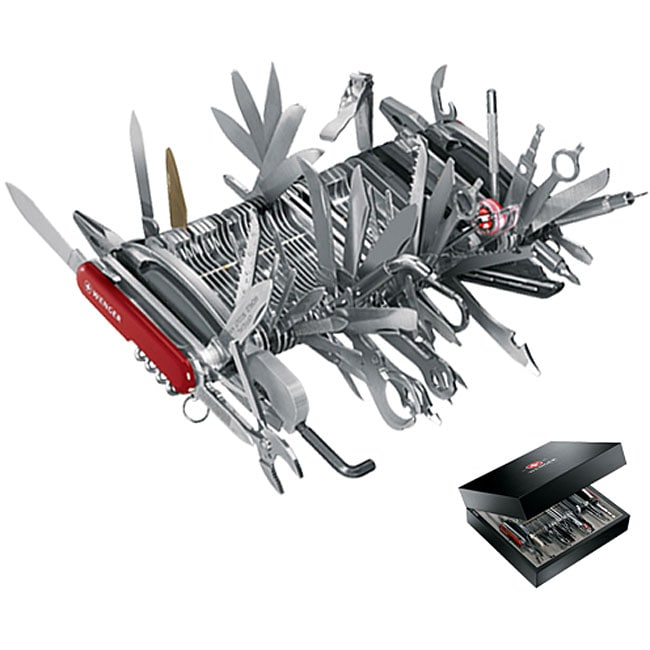 Wenger Giant 85-tool 141-function Swiss Army Knife