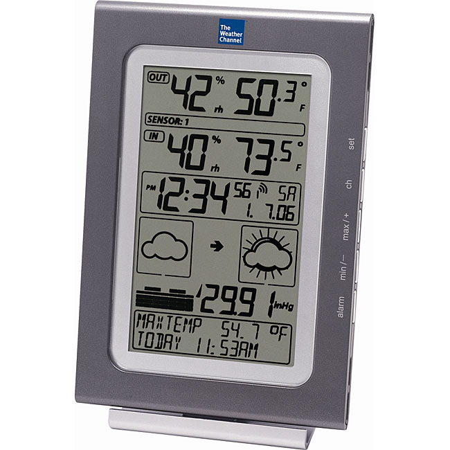 La Crosse Technology WS-9020TWC-IT Wireless Intelligent Forecast Station