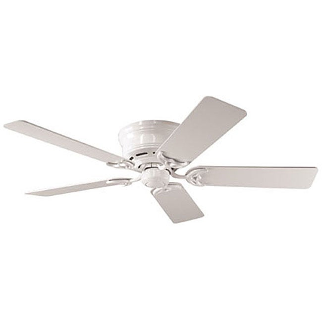 Hunter 52-inch Low Profile White Ceiling Fan (Refurbished)
