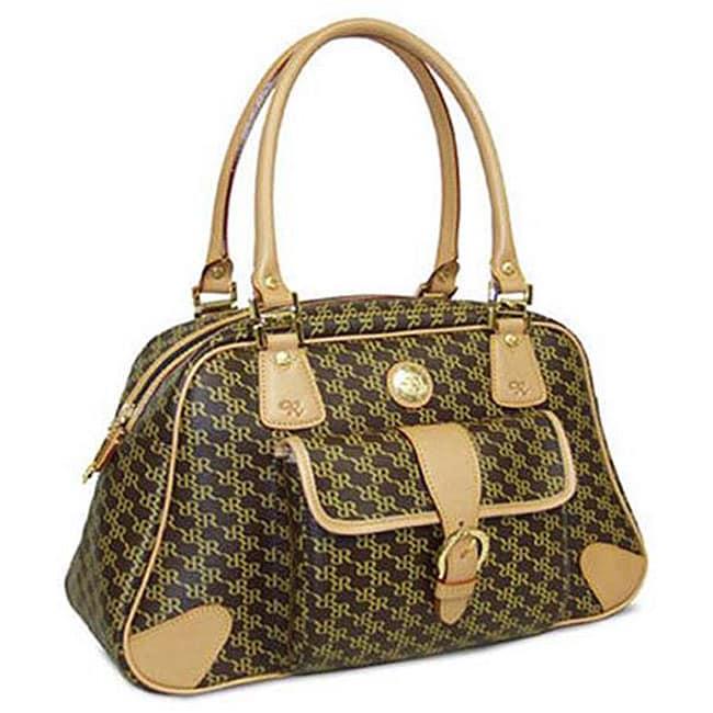 Rioni Aristo Satchel Organizer Handbag