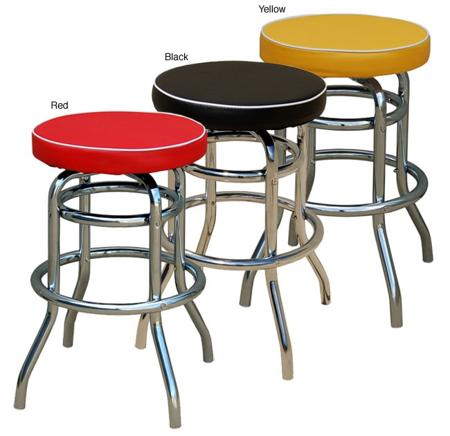 Simple Living Birmingham Retro Bar Stool Overstock