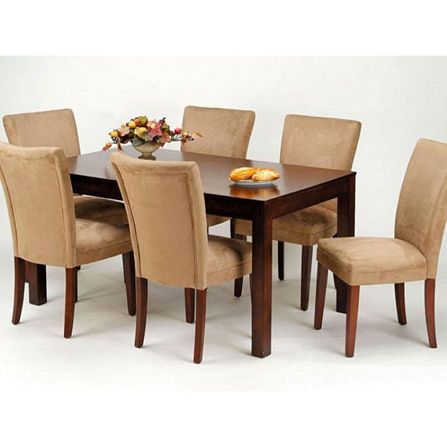 Newport 7 piece Dining Table Set 11480474 Overstock  : L11480474 from www.overstock.com size 650 x 650 jpeg 36kB