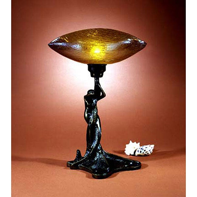 Dale Tiffany Mermaid Uplight Accent Lamp 11480525