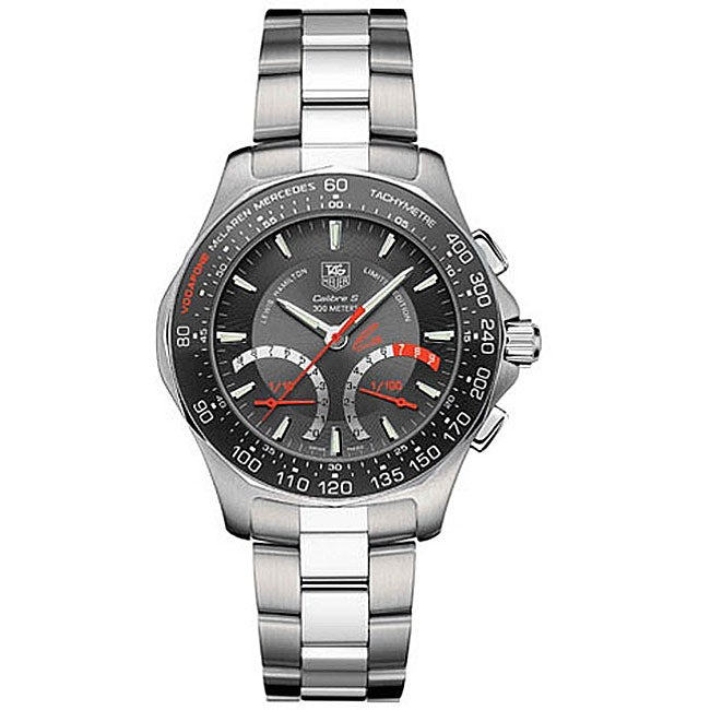 Tag heuer aquaracer lewis hamilton men 39 s watch 11482479 shopping big for Tag heuer discount