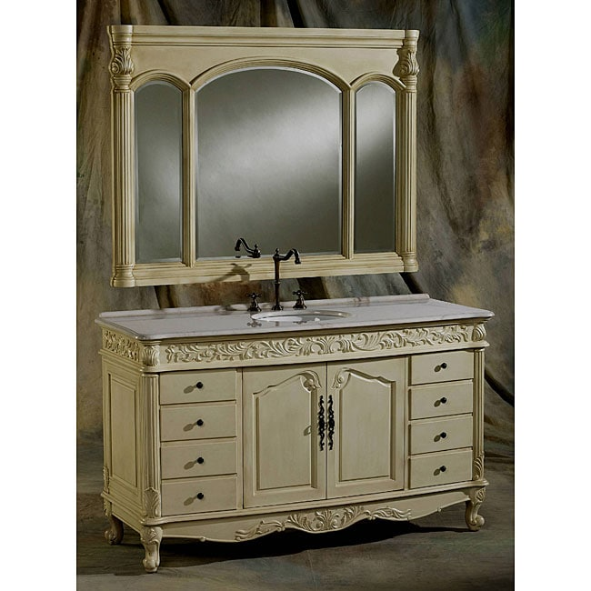 ica furniture perseus bathroom vanity and mirror set 11484958