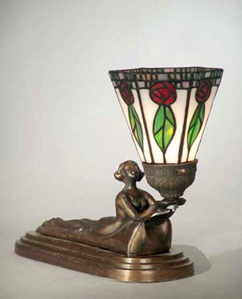 Dale Tiffany Mini Lady Accent Lamp 11488586 Overstock