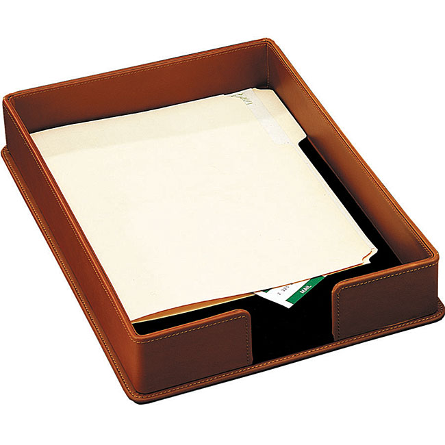 Leather legal tray 11497612 overstockcom shopping for Legal letter tray