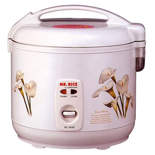 Portable 6-cup Rice Cooker