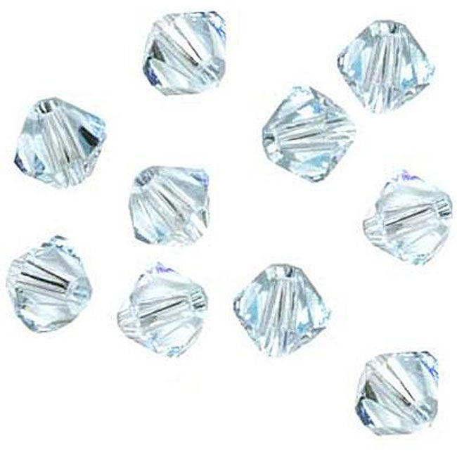 Light Azore Austrian Crystal 4mm Bicone Beads (Case of 50)