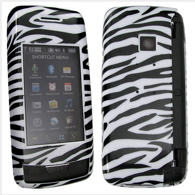 Zebra Snap-On Case for LG VX10000 Voyager