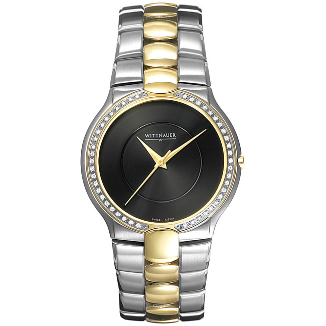 Wittnauer Men's Biltmore Diamond Two-tone Watch