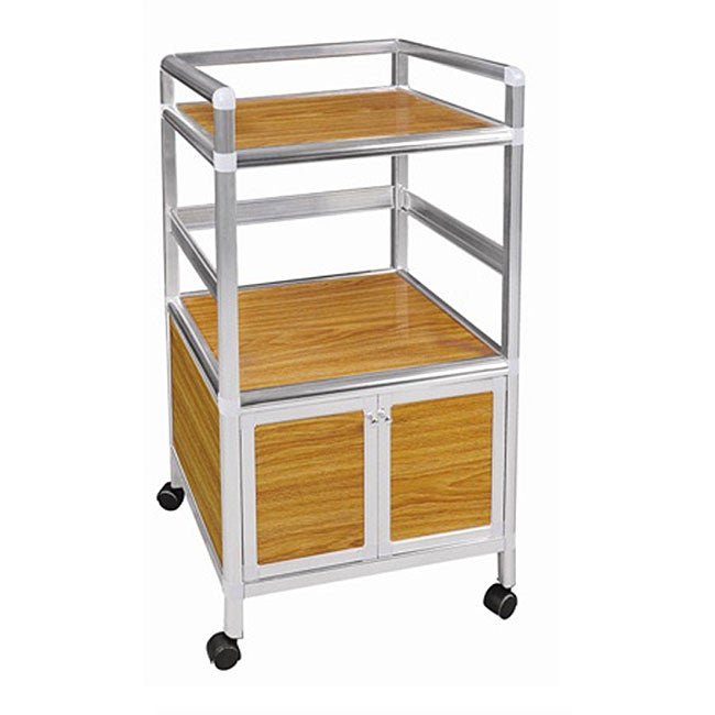 Small Kitchen Microwave Cart 11527574 Overstock Com