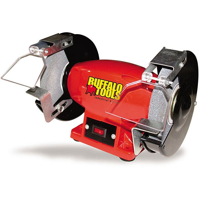 Buffalo Tools 6 Inch Bench Grinder Overstock Shopping Big Discounts On Buffalo Tools Auto Tools