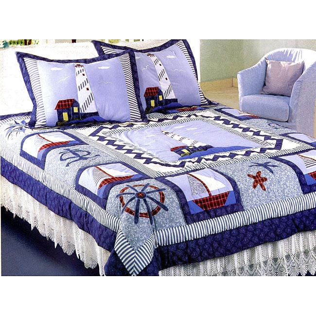 Image Result For Lighthouse Comforter Sets Queen