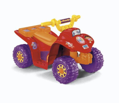 Fisher Price Dora Lil Quad Power Wheels Ride-on Car