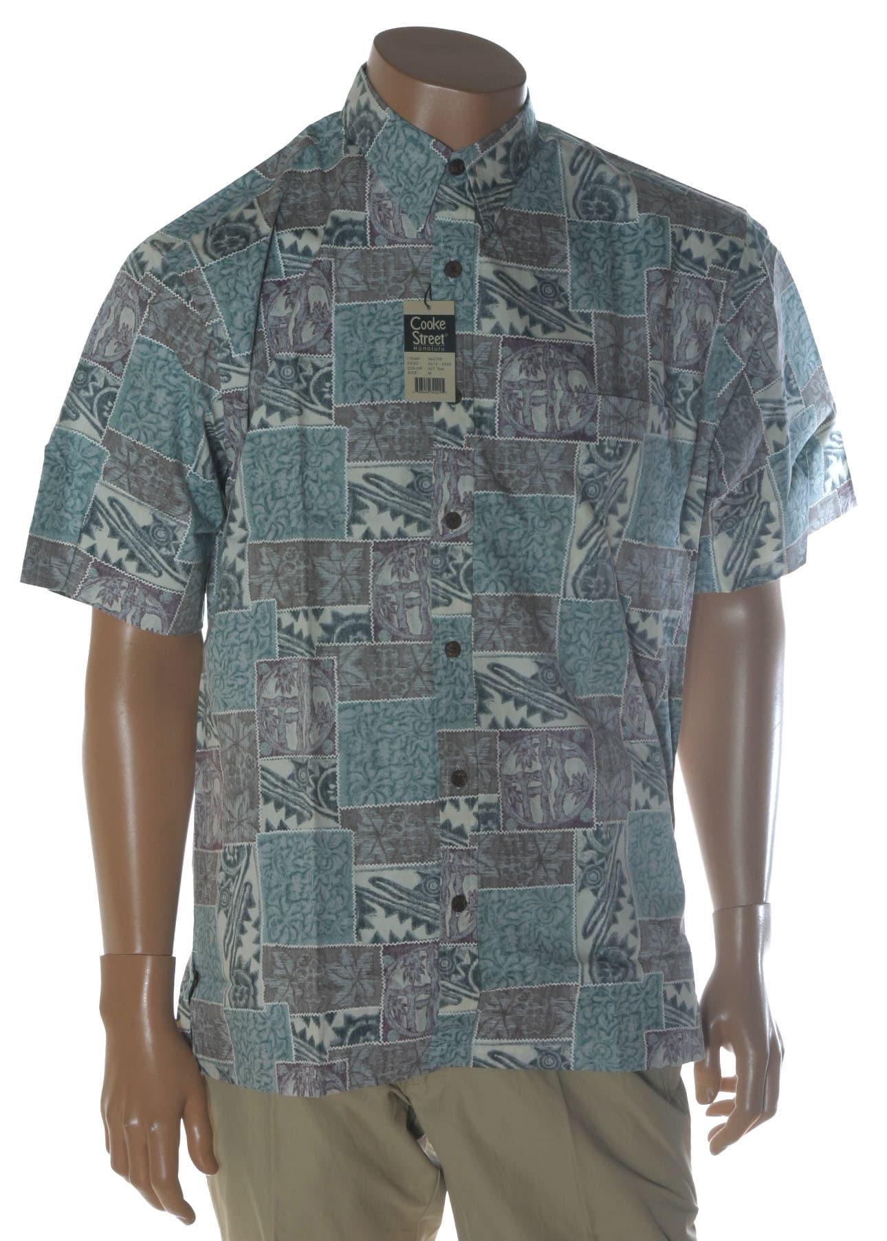 Cooke Street Honolulu Mens Hawaiian Shirt