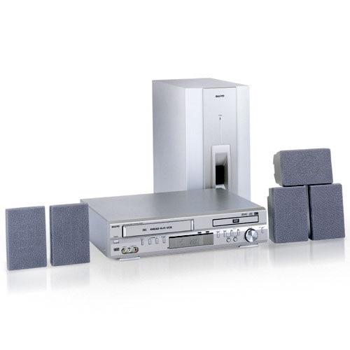 Sanyo DWM-3000 DVD VCR Home Theater Combo (Refurbished)