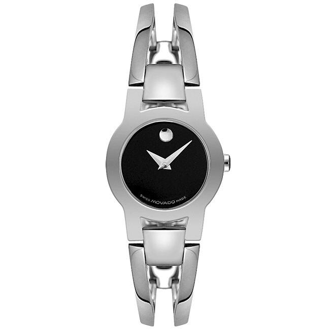 Movado Amorosa Women's Steel Bangle Watch