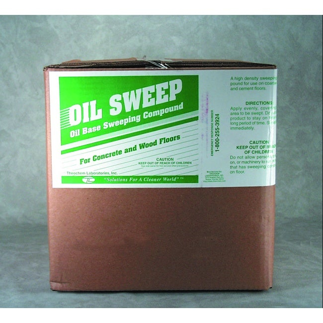 Wintergreen Scented 100 lb. bag of Oil Based Floor Sweep Compound